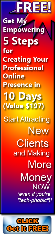 Click Here for Free Trainng: How to Create Your Online Presence in 10 Days